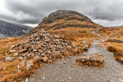Lake district buttermere haystacks Stock Photography