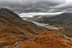 Lake district buttermere haystacks Stock Photo