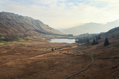 Lake District. A classic landscape of Lake District in England Royalty Free Stock Image