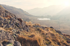 Lake District. A classic landscape of Lake District in England Royalty Free Stock Images