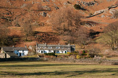 Lake District Cottages Stock Image