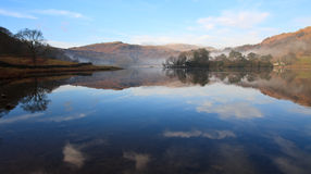 Lake District Countryside Reflection Royalty Free Stock Photography