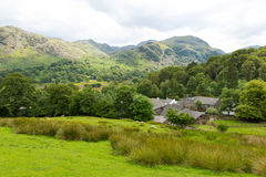 Lake District countryside Seatoller Borrowdale Valley Cumbria England UK Stock Image
