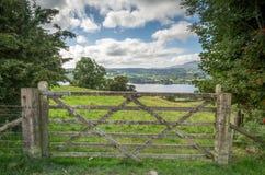 Lake district in Cumbria england uk kernow Royalty Free Stock Image