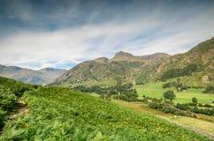 Lake district in Cumbria england uk kernow Stock Photography