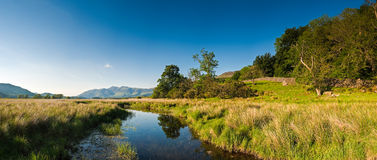 Lake District, Cumbria, UK. Derwent Water and Latrigg mountain backdrop, Lake District, Cumbria Stock Photos