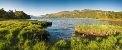 Lake District, Cumbria, UK. Derwent Water and Latrigg mountain backdrop, Lake District, Cumbria Stock Image