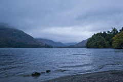 Lake District. An early morning al Ullswater in Lake District Stock Photo