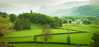 Lake District. English countryside in spring, Lake District, Cumbria, UK Stock Images