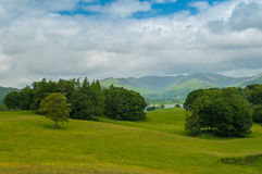 Lake District The Fairfield Horseshoe Royalty Free Stock Images