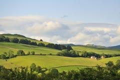 Lake district, farm on the fells, Cumbria Stock Photos