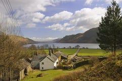 Glencoyne farm, Ullswater, Cumbria Royalty Free Stock Photography