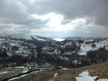 Lake District Fells - Nab Scar Royalty Free Stock Photo