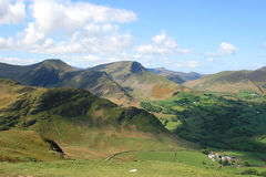 Lake District hills Royalty Free Stock Images