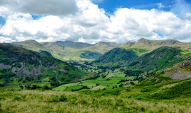 Lake District Landscape Royalty Free Stock Photos