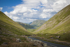 Lake District landscape. Typical landscape in Lake District, Cumbria Stock Photography