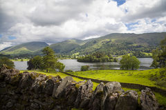 Lake District landscape. Typical landscape in Lake District, Cumbria Royalty Free Stock Images