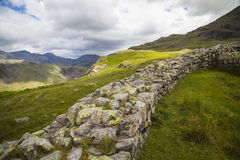 Lake District landscape. Typical landscape in Lake District, Cumbria Stock Images