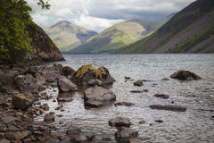 Lake District landscape. Typical landscape in Lake District, Cumbria Royalty Free Stock Photo