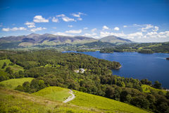 Lake District landscape Stock Image