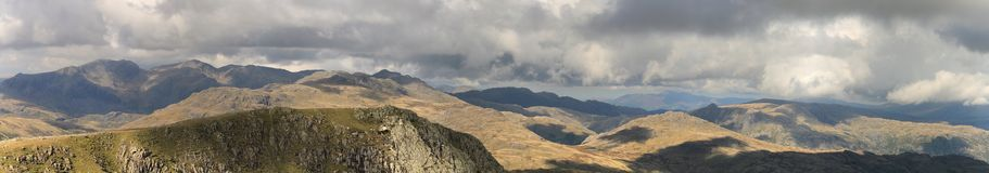 Scafell Lake District National Park Landscape Royalty Free Stock Images