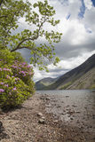 Lake District landscape. Wastwater lake in Lake District, Cumbria Royalty Free Stock Photos