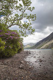 Lake District landscape. Wastwater lake in Lake District, Cumbria Royalty Free Stock Images