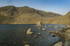 Lake District ,Mountain Tarn Stock Photo