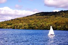 Lake District.A mountainous region in North West England. Royalty Free Stock Photos