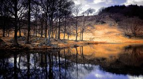 Lake district national park Stock Image