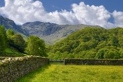 Lake District National Park Royalty Free Stock Image