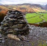 Lake district national park cumbria Royalty Free Stock Image