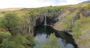 Banishead Quarry Lake District National Park Cumbria Stock Photo