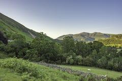 Lake District National Park Landscape, Cumbria, Uk, spring 2017. Royalty Free Stock Images