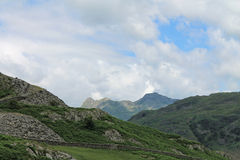 Lake District National Park Little Langdale Cumbria Royalty Free Stock Images