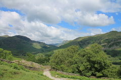 Lake District National Park Little Langdale Cumbria Stock Photography