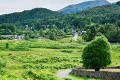 Lake District National Park, Northern England stock photography