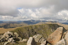 Lake District Panorama Royalty Free Stock Photo