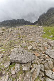 Lake district scafell pike climb Royalty Free Stock Image