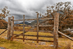 Lake district scafell pike gate Royalty Free Stock Photos