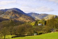 Lake District scenic Stock Photos