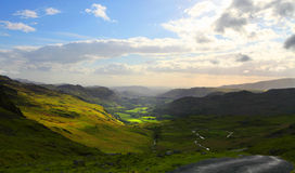 Lake District stock image