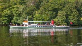 Lake District Steamer Royalty Free Stock Photo
