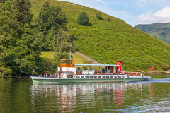 Lake District Steamer Royalty Free Stock Images