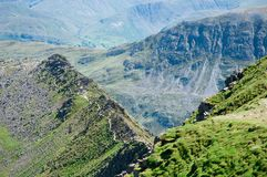 Lake District, Striding Edge Royalty Free Stock Images