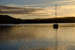 Lake District Sunset Royalty Free Stock Images