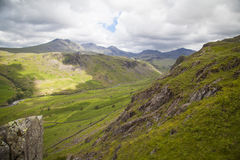 Lake District. Typical landscape in Lake District, Cumbria Royalty Free Stock Photo