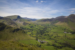 Lake District. Typical landscape in Lake District, Cumbria Royalty Free Stock Photos