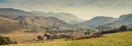 Lake District. A valley in the Lake District, UK Stock Images
