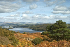 Lake District view Royalty Free Stock Photos